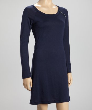 Patriot Blue Long-Sleeve Chemise
