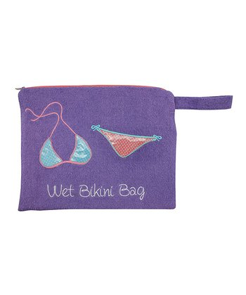 Purple Bikini Beach Bag