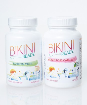 Bikini Ready Multivitamin & Weight Loss Catalyst Supplement Set