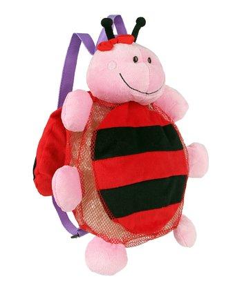 Lavender & Red Ladybug Silly Sack