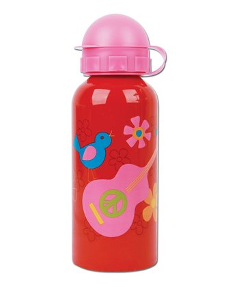 Pink & Red Stainless Steel Waterbottle