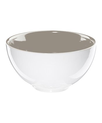 Gray Cereal Bowl
