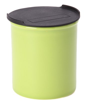 Green Medium Canister & Lid