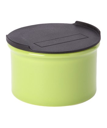 Green Small Canister & Lid