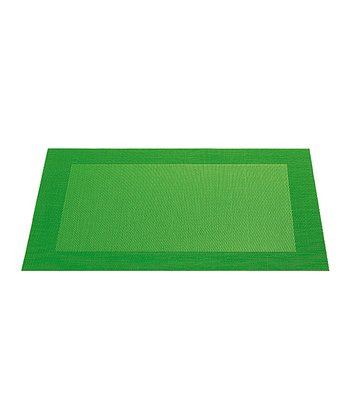 Light Green Place Mat - Set of Four