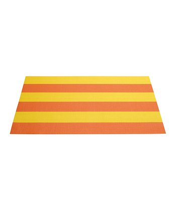Yellow & Orange Place Mat - Set of Four