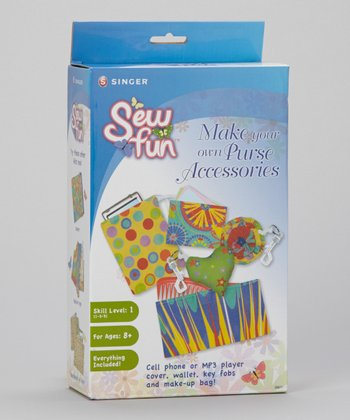 Sew Fun Make Your Own Purse Accessories Kit