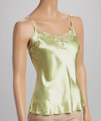 Dolce Vita Intimates Butterfly Embroidered Satin Camisole - Women
