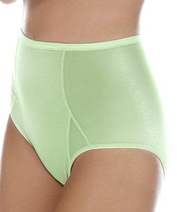 BodyWrap Lime Shaper High-Waist Briefs - Women