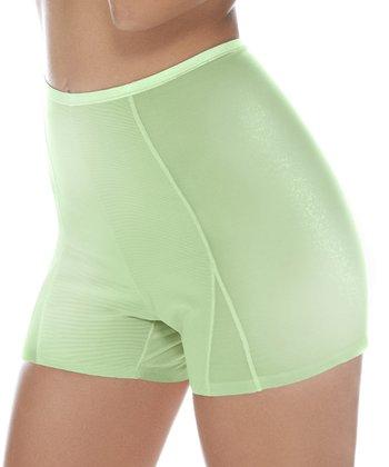 BodyWrap Lime Shaper High-Waist Shorts - Women