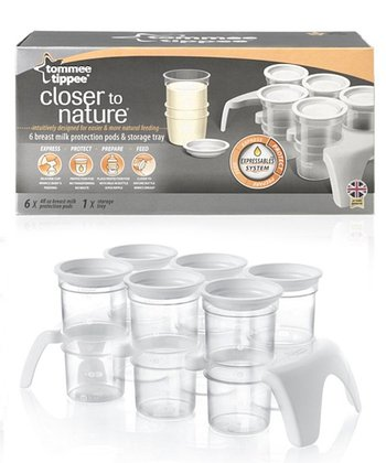 tommee tippee 4-Oz. Breast Milk Protection Pod Set & Tray