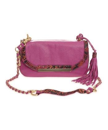 Sloane & Alex Peony Sydney Leather Convertible Crossbody Bag