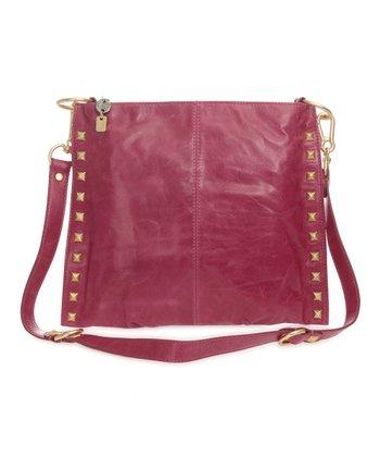Sloane & Alex Peony Angie Leather Convertible Crossbody Bag