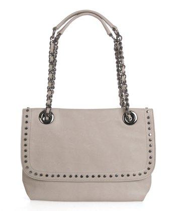 Sloane & Alex Stone Essex Leather Shoulder Bag