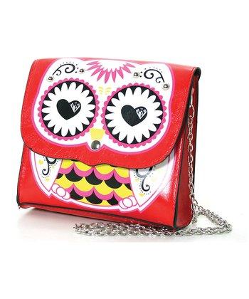 Red Owl Shoulder Bag