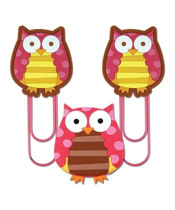 2 OWL JUMBO CLIPS 1 OWL ANIMAG