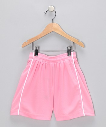 Pink Dynamo Shorts - Kids & Adults