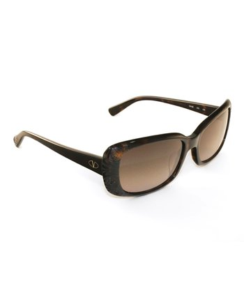 Dark Havana Rose Sunglasses