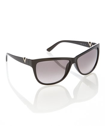 Black V Sunglasses