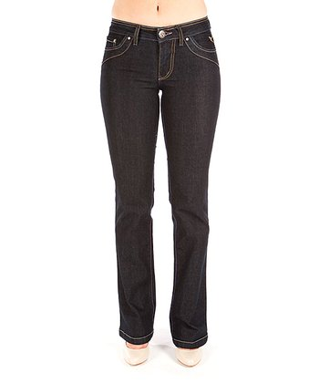 Dark Blue Jennifer Bootcut Jeans