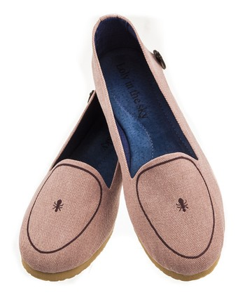 Loly in the Sky Pink Veronica Loafer