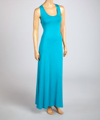 Magic Fit Jade Sleeveless Maxi Dress