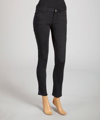 Reform Jeans Black Ankle Pants