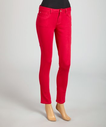 Reform Jeans Pink Ankle Pants