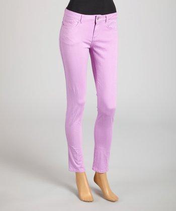 Reform Jeans Lavendar Ankle Pants