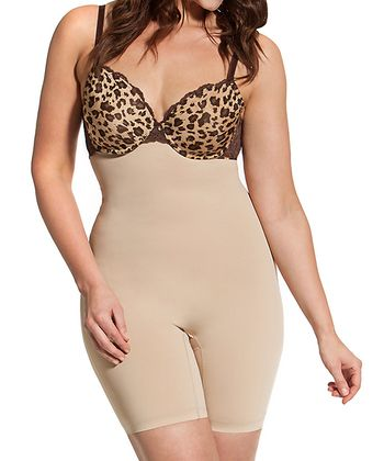 Nude Hooked Up High-Waist Shaping Extended Briefs - Women & Plus