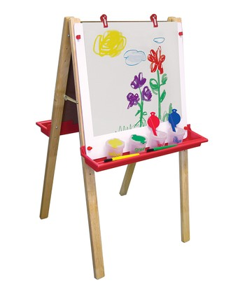 Easel & Paint Crate Set