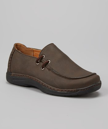 PABEL Brown Slip-On Shoe