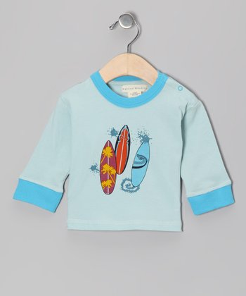 Blue Surf Board Tee - Infant