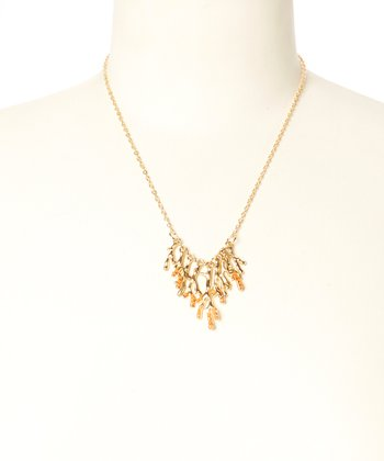 Coral Station Necklace