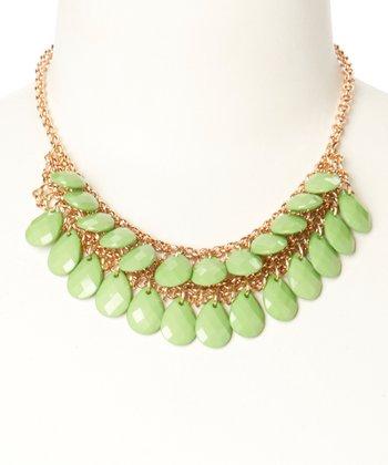 Green Monte Carlo Necklace
