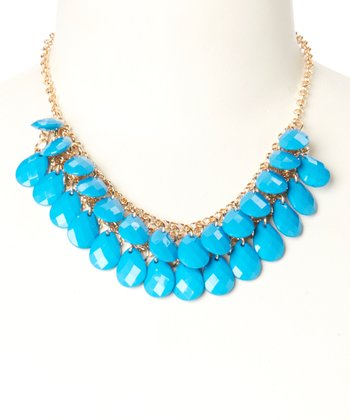 Turquoise Monte Carlo Necklace