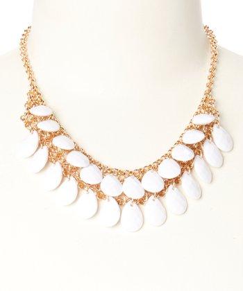 White Monte Carlo Necklace