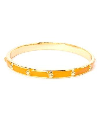 Orange & Gold Ship Bangle