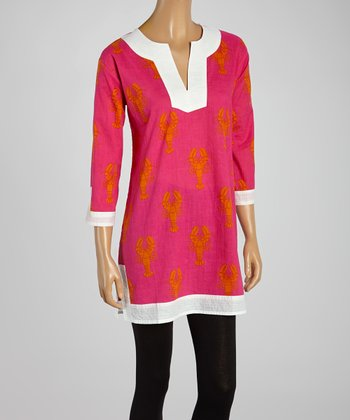 Pink Lobster Tunic