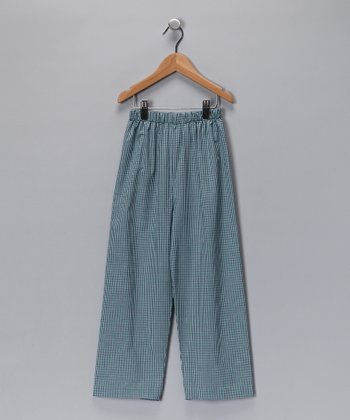 Green Plaid Hunting Duck Pants - Toddler & Boys