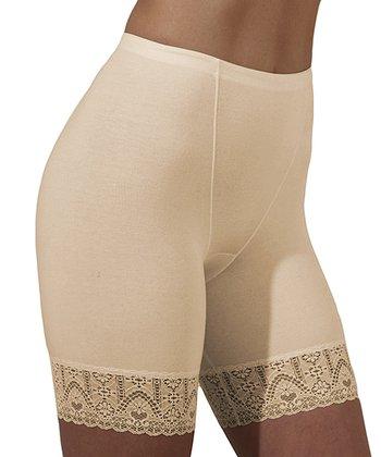 Nude Civil Lace Shaper Shorts - Women & Plus