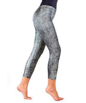 Silver Scales Shaper Leggings - Women