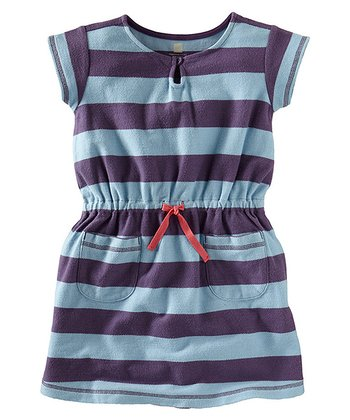 Powder Blue Cape Point Beach Dress - Girls