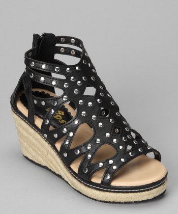 Black Mickey-K Espadrille