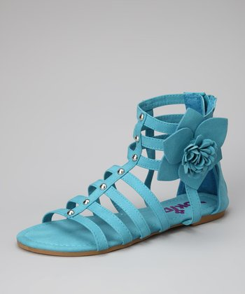 Blue Rose-08K Gladiator Sandal