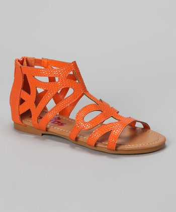 Yokids Orange Ariel Sandal