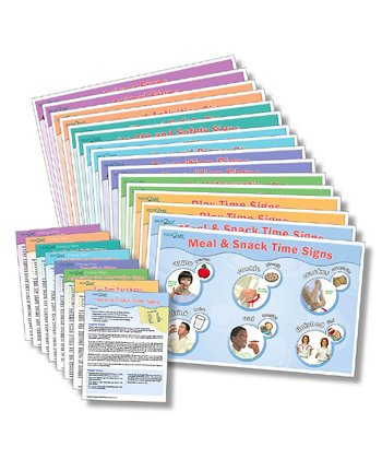 French Laminated Placemat/Poster Set