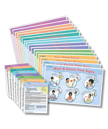 Spanish Laminated Placemat/Poster Set