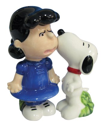 Snoopy & Lucy Salt & Pepper Shakers