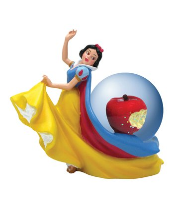 Snow White's Apple Water Globe